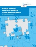 Putting Together the Pieces on FDA's Social Media Guidance