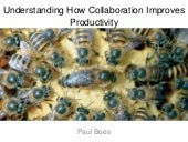 Understanding how collaboration improves productivity workshop