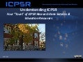 Understanding ICPSR - An Orientation and Tours of ICPSR Data Services and Educational Resources