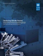 UNDP-Catalysing Climate Finance