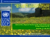 UNDP's work in ecosystems and natur...