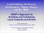 Local Solutions for Poverty, Enviro...