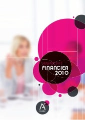 Unédic : rapport financier 2010