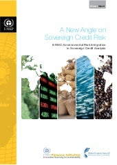 UNEP: A New Angle on Sovereign Cred...