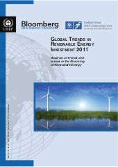 Unep Global Trends 2011