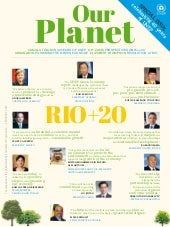 "UNEP Magazine ""Our Planet"" - Secial..."