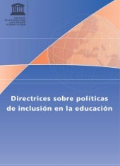 Unesco 2009 directrices politica in...