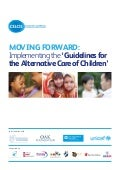 'Moving Forward: Implementing the 'Guidelines for the Alternative Care of Children'
