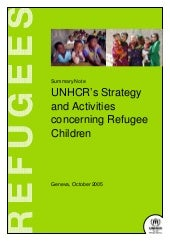 Unhcr   unhcr strategy and activiti...