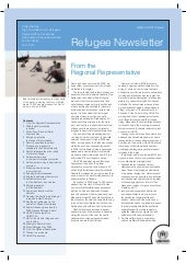 Australia for Unhcr newsletter2010