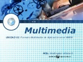 Multimedia en la Web