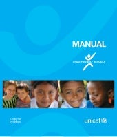Unicef child friendly schools manual
