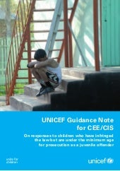 UNICEF Guidance note for CEE/CIS on...