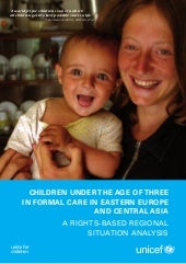 Children under the age of three in ...