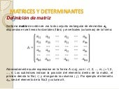 Unidad 4 matrices y determinantes