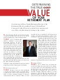 Unified Trust| Determining The True Value of Your Retirement Plan