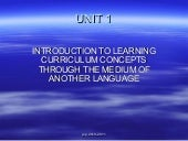 Unit 1   introduction to clil