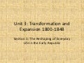 Unit 3 transformation and expansion