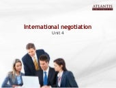 Unit4 International Negotiation