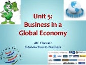 Unit 5 - Global Business Notes