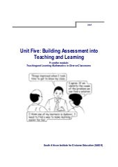 Ace Maths Unit Five: Building asse...