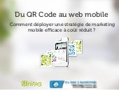 Marketing Mobile: du QR Code au Web...
