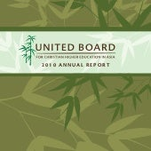 United Board Annual Report  2010