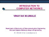 Unit-1 intro to communication networks