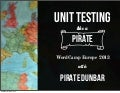 Unit testing like a pirate #wceu 2013