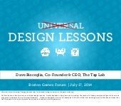 Universal Design Lessons - Boston G...