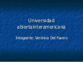 Universidad Abiertainteramericana C...