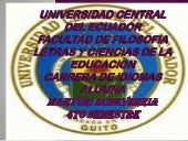 Universidad central del ecuador por...