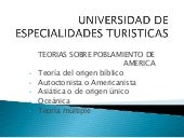 Universidad de especialidades turis...