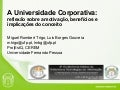 Universidades Corporativas na UFP