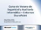 Auditing SharePoint 2010
