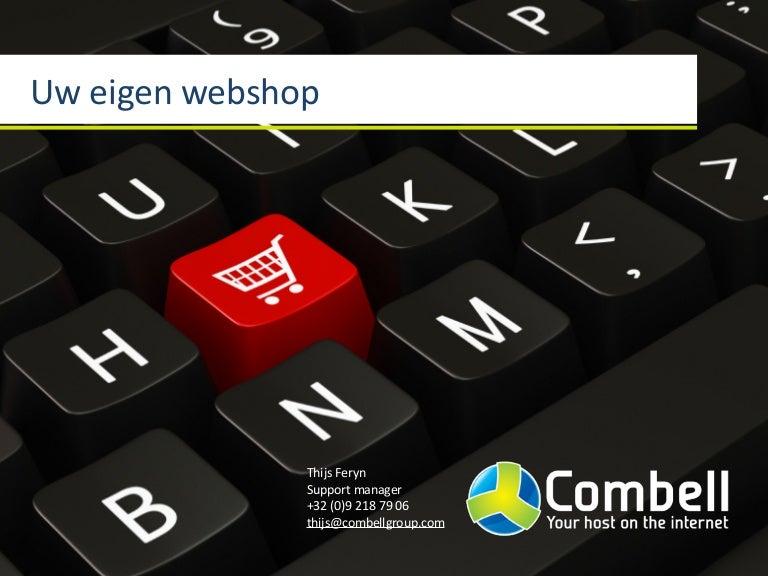 Uw eigen webshop, hoe begint u daaraan?
