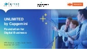 UNLIMITED by Capgemini: Foundation of Digital Business