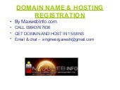 Unlimited hosting in madurai - maxw...
