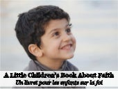 Un livret pour les enfants sur la foi - A Little Children's Book about Faith