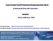 Unmanned Aircraft System Fundamentals