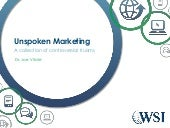 Unspoken Marketing Rules - a collec...