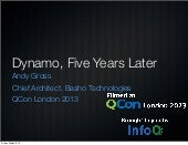 Riak and Dynamo, Five Years Later