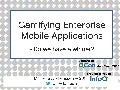 Gamifying Enterprise Mobile Applications: Do We Have a Winner?
