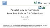 Parallel-lazy Performance: Java 8 vs Scala vs GS Collections