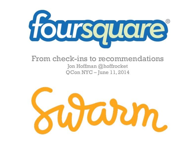 Foursquare 확장(Scaling) 과정: 체크인에서 추천까지 (슬라이드)
