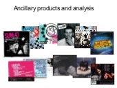 Album covers : Ancillary products a...
