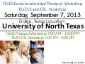 UNT TExES Workshop