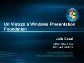Un Vistazo A Windows Presentation F...
