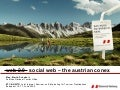 UNWTO / ETC: Social Web - the Austrian Conex