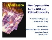 Open Data - Challenges and Opportun...